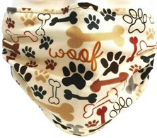 Bones and Paws Face Mask
