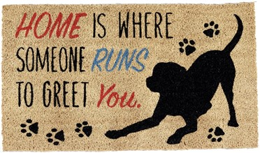 dog doormat gift for dog lovers