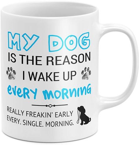 Funny coffee mug gift for dog lovers