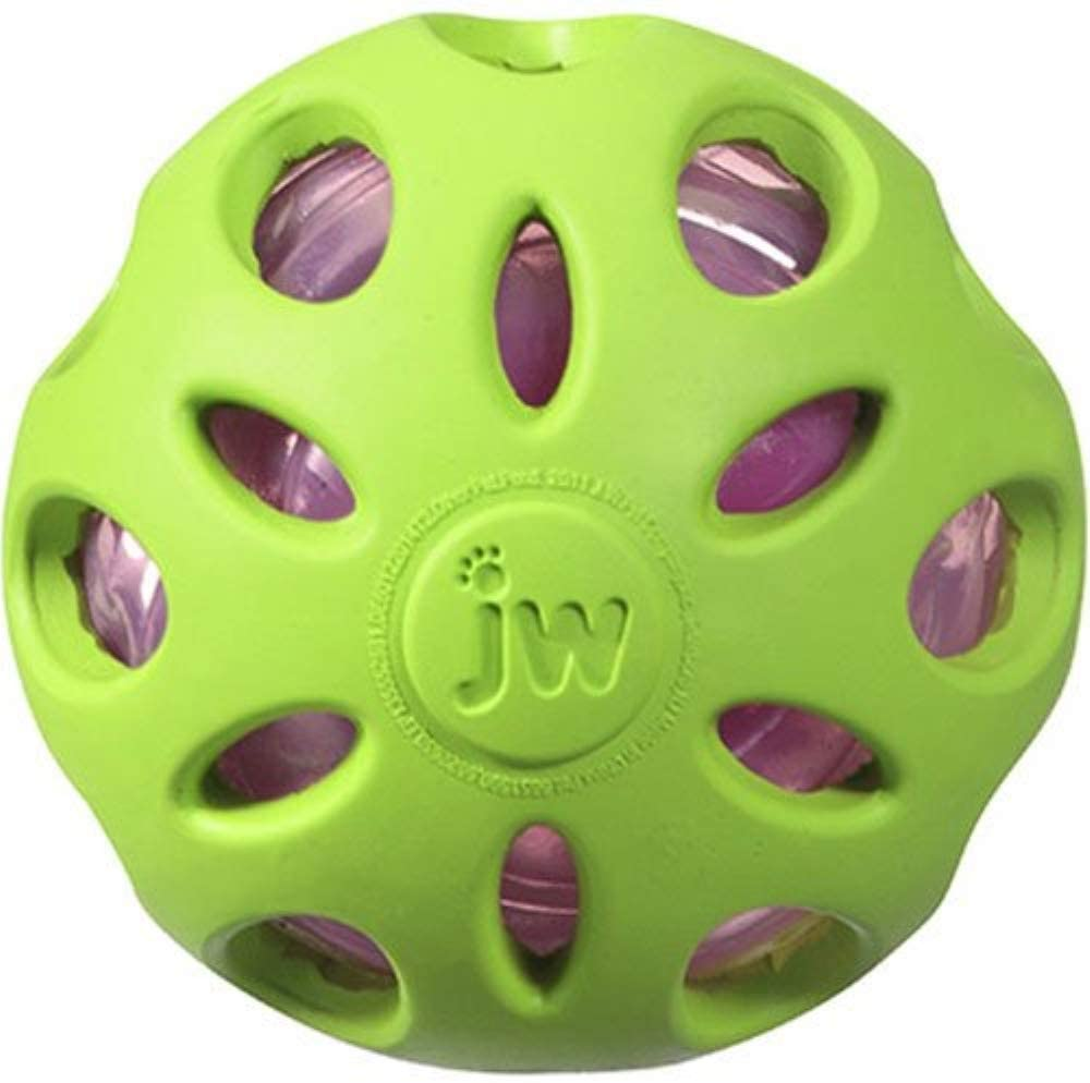 JW Crinkle Ball chew toy for dogs