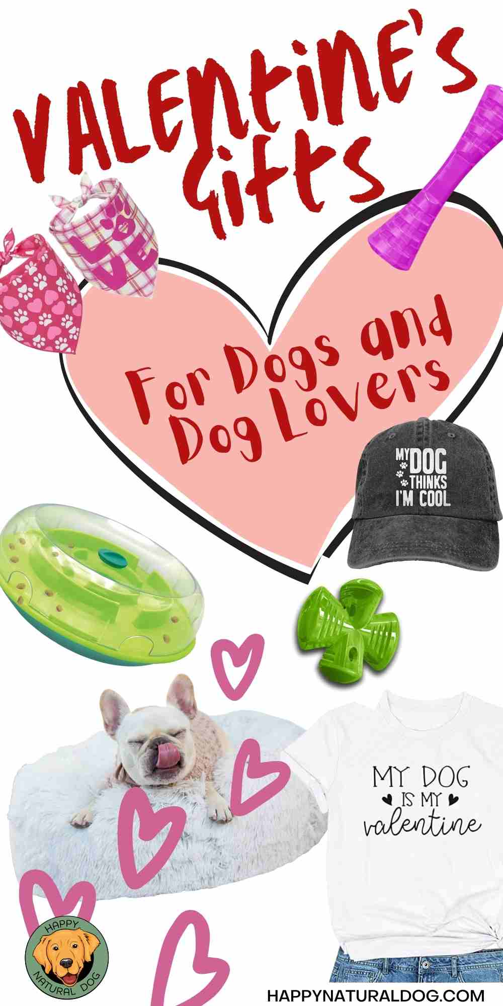 Valentine's Day Gift Guide for Dogs & Dog Lovers