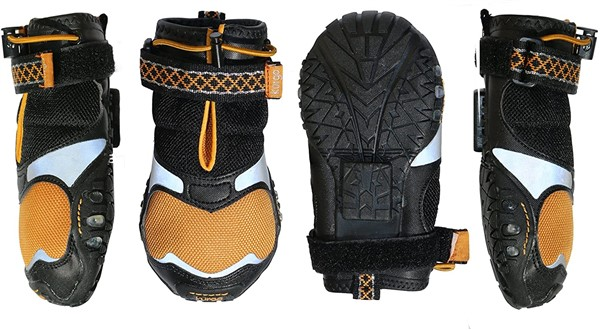 Kurgo Step n Strobe dog boots