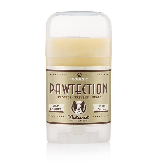 Pawtection dog paw protection wax in a stick applicator