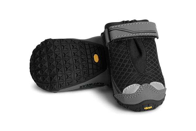 ruffwear grip trex dog boots for summer paw protection black