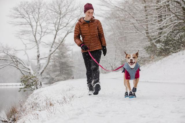ruffwear winter paw protection Polar Trex dog boots